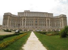 Bucarest - parlamento