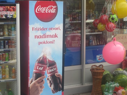 Mostar - Share a coke with a bosniac