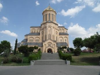 Tbilisi - Tsiminda Sameba cathedral