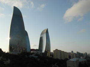16 - Baku - Flame towers