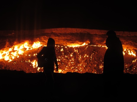 19 - Darvaza - Gas crater (hell's door)