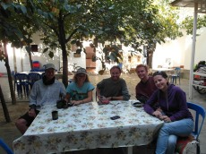 37 - Tashkent - With James, Linda & Jeppe
