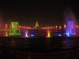 02 - Xian - lights&water show