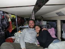 33 - Sleeping bus from Kunming to Yuanyang