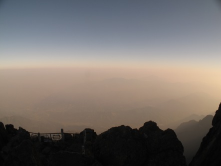 41 - Emei Shan - sea of clouds
