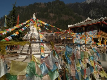 61 - Jiuzhaigou national park - Tibetan village