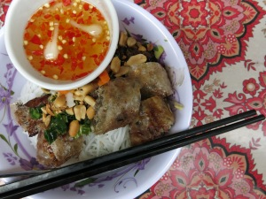 62 - Saigon (Ho Chi Minh city) - best bun cha ever
