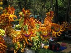 65 - Saigon (Ho Chi Minh city) - fruit art