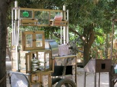 57 - Don Khong island, Kratie - sugar cane juice machine!