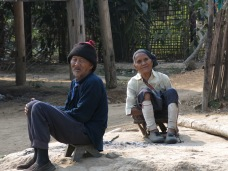 55-Luang Namtha-trekking in the jungle, village