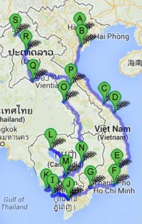 Tra Vietnam E Thailandia Cartina Geografica.La Nostra Mappa Del Sud Est Asiatico 1 Vietnam Cambogia Laos Been To Gether